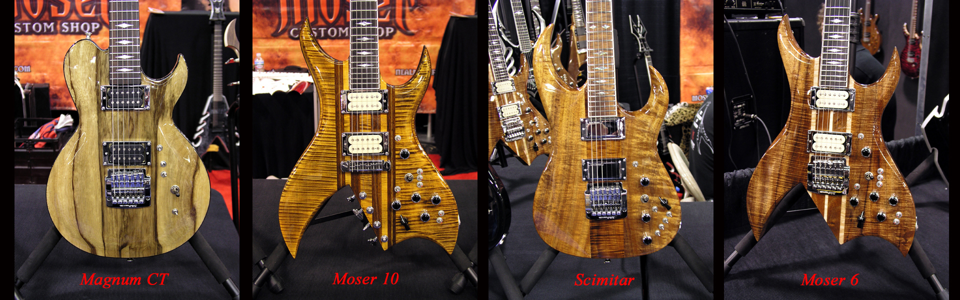Moser Guitars at NAMM