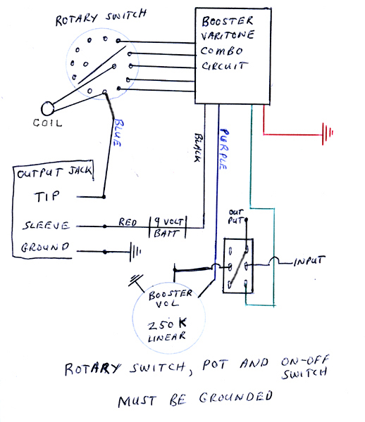 Rc Rich Guitar Wiring Diagram - Example Electrical Wiring Diagram •